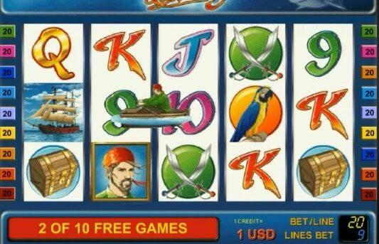 sharky бесплатные вращения, бонус
