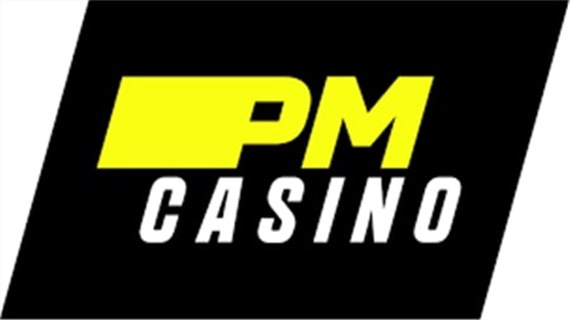 Логотип казино PM
